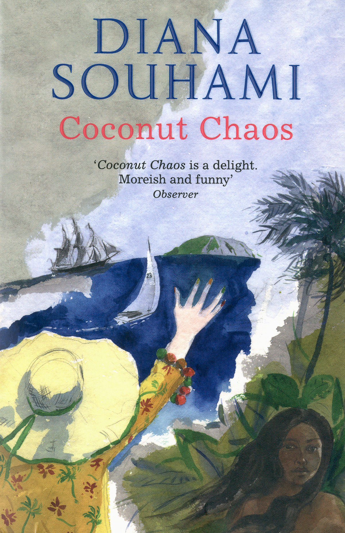'Coconut Chaos' by Diana Souhami