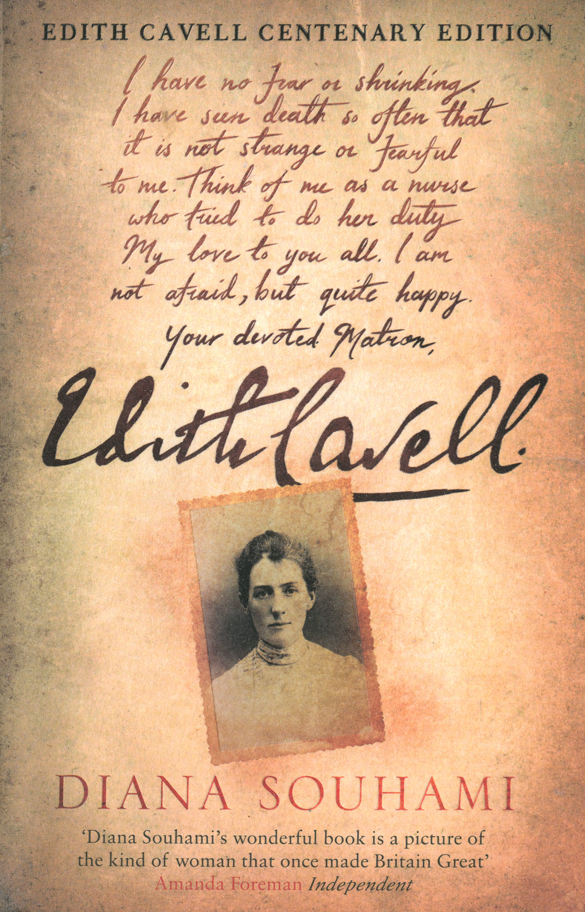 'Edith Cavell' by Diana Souhami
